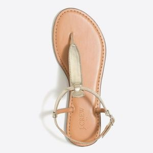 J. Crew | T-strap Sandal